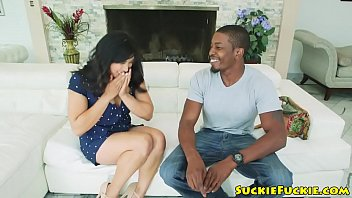 Asian babe buttfucked by black bloke
