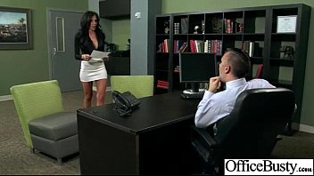 Superb Woker Girl (jaclyn taylor) With Big Tits Get Hard Sex In Office clip-12