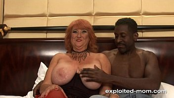 Amateur Mom Big Boob redhead milf fucking black cock Mature Big Tits Video