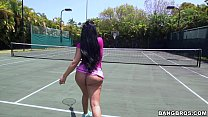 Tennis MILF with Big Booty 4 min