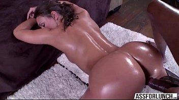 Olivia Wilder appreciates interracial anal sex by her boyfriend