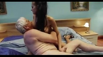 Grandfather Fucking not his Big Titted Young Granddaughter