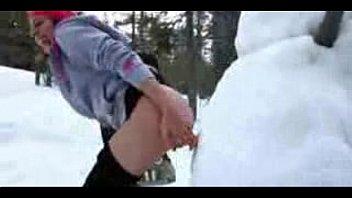 Cogiendo con el Muñeco de Nieve- Frozen XXX
