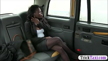 Hot ass amateur ebony gets twat screwed by fraud driver