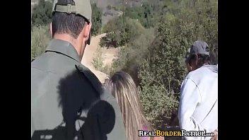 Border Agent Blackmails i. Mexican Border Hopper