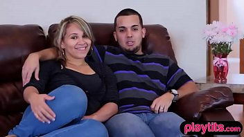 Real amateur couple tries swinging for the first time