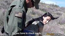 Border Agent Blackmailed i. Hispanic Amatuer