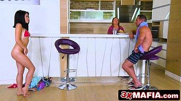 Sneaky Exotic Teen Rina Ellis Seducing Her Stepdad