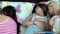 Facialized teen banged 8 min