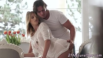 Alluring babe fucked sensually in missionary