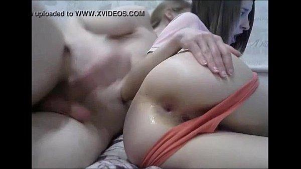 cute girl getting hard anal