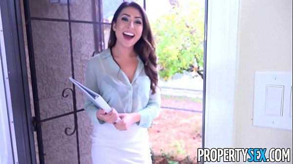 PropertySex - Sexy young real estate agent uses pussy to get client