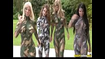 Cammo Coochies With Dylan, Molly, Natalie and Elena - We Live Together