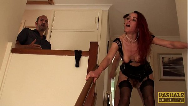English wifey whore assfucked to pay off debt