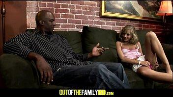 Black Step Dad Fucks Tiny Blonde Teen
