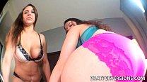 Giantess Fetish POV - Maria Jade and Anastasia Rose