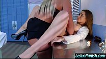 Sex Play Using Toys To Punish Each Other Between Lesbian Girls (dani&phoenix) mov-17