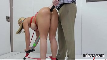 Hot sweetie is taken in anus asylum for uninhibited treatment