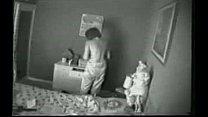Hidden cam. My mom masturbating on bed