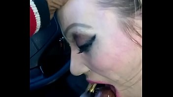 Bitch loves to swallow BBC and eat cum