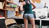 Alex Harper gets rammed by her boss in the office
