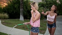 The New Lesbian Neighbor - Uma Jolie, Bella Rose - WebYoung