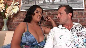 Jasmine Empties Cum from Three Humongous Cum Shooters