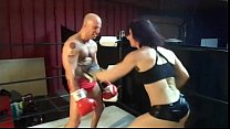UIWP ENTERTAINMENT BELLY PUNCHING MAN vs 202 lb WOMEN! See full clip here www.clips4sale.com/89258