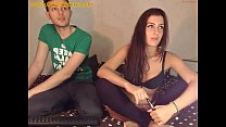 First time on webcam amateur couple from quebec