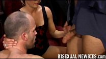 I will make sure you enjoy your first bisexual threesome