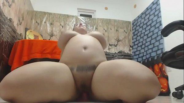 Redhead with huge nipples masturbates on webcam HD - more videos on CAMSBARN.COM