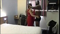 Hubby recording aunty threesome with bbc