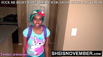 HD FUCKED YOUNG BLACK STEPDAUGHTER IN THE MOUTH & PUSSY FOR LYING TO ME TEEN MSNOVEMBER ON SHEISNOVEMBER