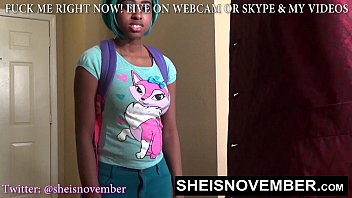 HD BlackStudent Mouth Punished By Stepfather For Lying About School, Teaching Msnovember With Cumswallow Dicksucking Blackfauxcest on Sheisnovember