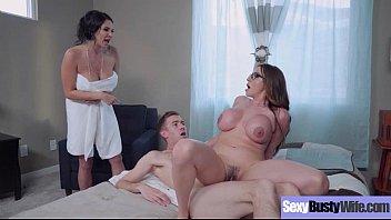 Hardcore Intercorse With Big Juggs Hot Sexy Wife (Ariella Ferrera & Missy Martinez) vid-07