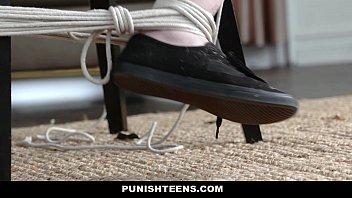 PunishTeens - Cute Goth Girl Charlotte Sartre k. & Fucked In Ass