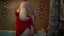 nude in bathroom shave pussy-ass ,oil body   lottion