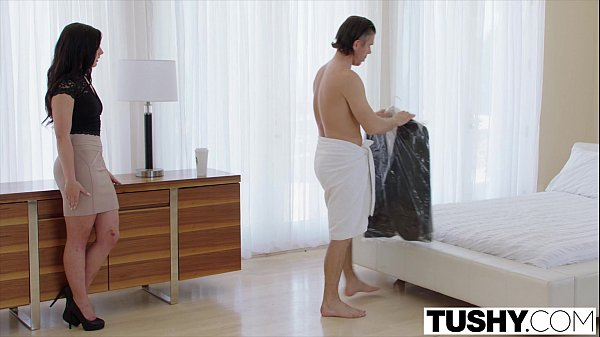 TUSHY Assistant Relieves Her Boss's Stress With Anal