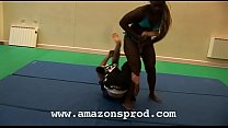 French mixed wrestling - Amazon's Productions Wrestling - clipsforsale