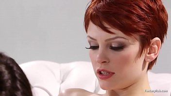 Redhead Gets More Than Foot Massage 6 min