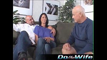 Hot wife fucks a pornstud