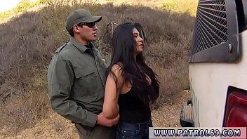 Police officer on duty Stunning Mexican floozie Alejandra Leon
