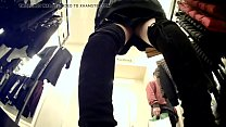 Upskirt of Asian Girl in Clothes Store  - MORE VIDEOS: