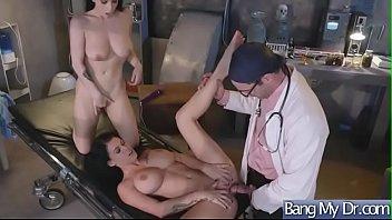 Dirty Mind Doctor Seduce And Ban Horny Slut Patient (Noelle Easton & Peta Jensen) video-19