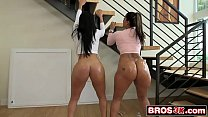 Bubble Butt Latina Lesbians Diamond Kitty and Spicy J Having Fun Together