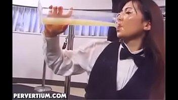 Cute Teen Bukkake And Full Glass Of Cum Swallowing