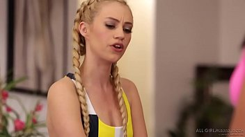 Yoga, Massage and Squirting with lesbians - Adriana Chechik, Lyra Law