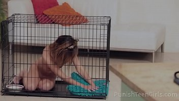 Sex toy living in the cage