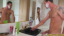 Blair Williams heated on the bathroom with her step dad