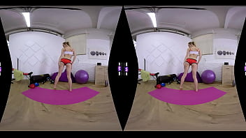 SexLikeReal-Morning Pussy Workout In Gym 180VR 60 FPS TMW VR